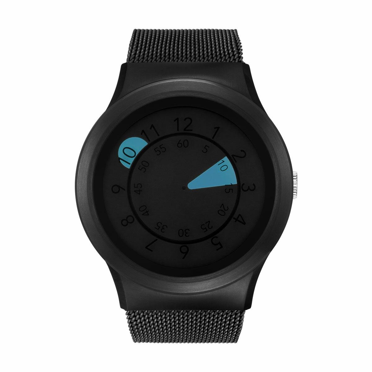 ZEROO AQUA DROP ゼロ 電池式クォーツ 腕時計 [W10039B03SM03] ブルー デザインウォッチ ペア用 メンズ レディース ユニセックス おしゃれ時計 デザイナーズ
