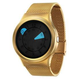 ZEROO AQUA DROP ゼロ 電池式クォーツ 腕時計 [W10039B04SM04] ブルー デザインウォッチ ペア用 メンズ レディース ユニセックス おしゃれ時計 デザイナーズ