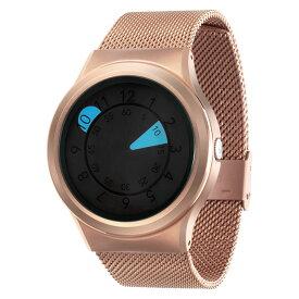 ZEROO AQUA DROP ゼロ 電池式クォーツ 腕時計 [W10039B05SM05] ブルー デザインウォッチ ペア用 メンズ レディース ユニセックス おしゃれ時計 デザイナーズ