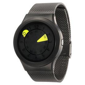 ZEROO AQUA DROP ゼロ 電池式クォーツ 腕時計 [W10040B02SM02] イエロー デザインウォッチ ペア用 メンズ レディース ユニセックス おしゃれ時計 デザイナーズ