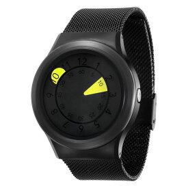 ZEROO AQUA DROP ゼロ 電池式クォーツ 腕時計 [W10040B03SM03] イエロー デザインウォッチ ペア用 メンズ レディース ユニセックス おしゃれ時計 デザイナーズ