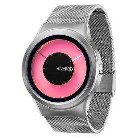ZEROO MAGIA AURORA ゼロ 電池式クォーツ 腕時計 [W11025B01SM01] ピンク デザインウォッチ ペア用 メンズ レディース ユニセックス おしゃれ時計 デザイナーズ