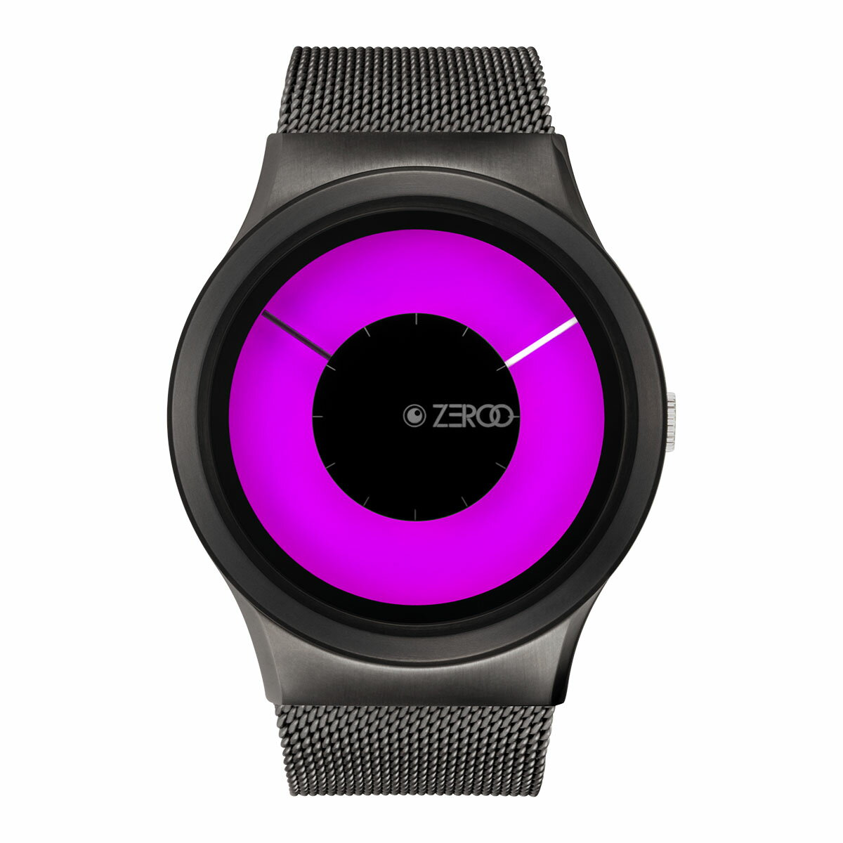 ZEROO MAGIA AURORA ゼロ 電池式クォーツ 腕時計 [W11025B02SM02] ピンク デザインウォッチ ペア用 メンズ レディース ユニセックス おしゃれ時計 デザイナーズ