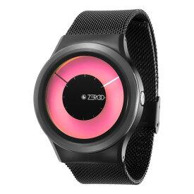 ZEROO MAGIA AURORA ゼロ 電池式クォーツ 腕時計 [W11025B03SM03] ピンク デザインウォッチ ペア用 メンズ レディース ユニセックス おしゃれ時計 デザイナーズ