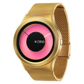 ZEROO MAGIA AURORA ゼロ 電池式クォーツ 腕時計 [W11025B04SM04] ピンク デザインウォッチ ペア用 メンズ レディース ユニセックス おしゃれ時計 デザイナーズ