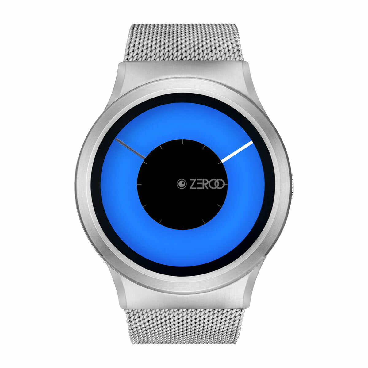 ZEROO MAGIA AURORA ゼロ 電池式クォーツ 腕時計 [W11026B01SM01] ブルー デザインウォッチ ペア用 メンズ レディース ユニセックス おしゃれ時計 デザイナーズ