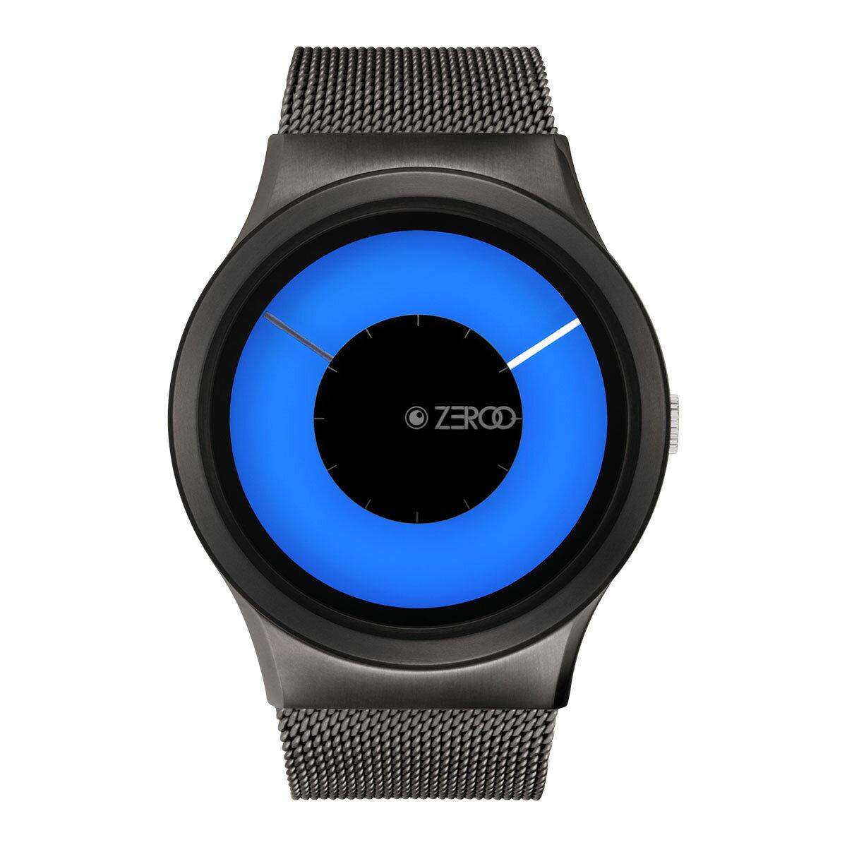 ZEROO MAGIA AURORA ゼロ 電池式クォーツ 腕時計 [W11026B02SM02] ブルー デザインウォッチ ペア用 メンズ レディース ユニセックス おしゃれ時計 デザイナーズ