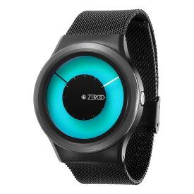 ZEROO MAGIA AURORA ゼロ 電池式クォーツ 腕時計 [W11026B03SM03] ブルー デザインウォッチ ペア用 メンズ レディース ユニセックス おしゃれ時計 デザイナーズ