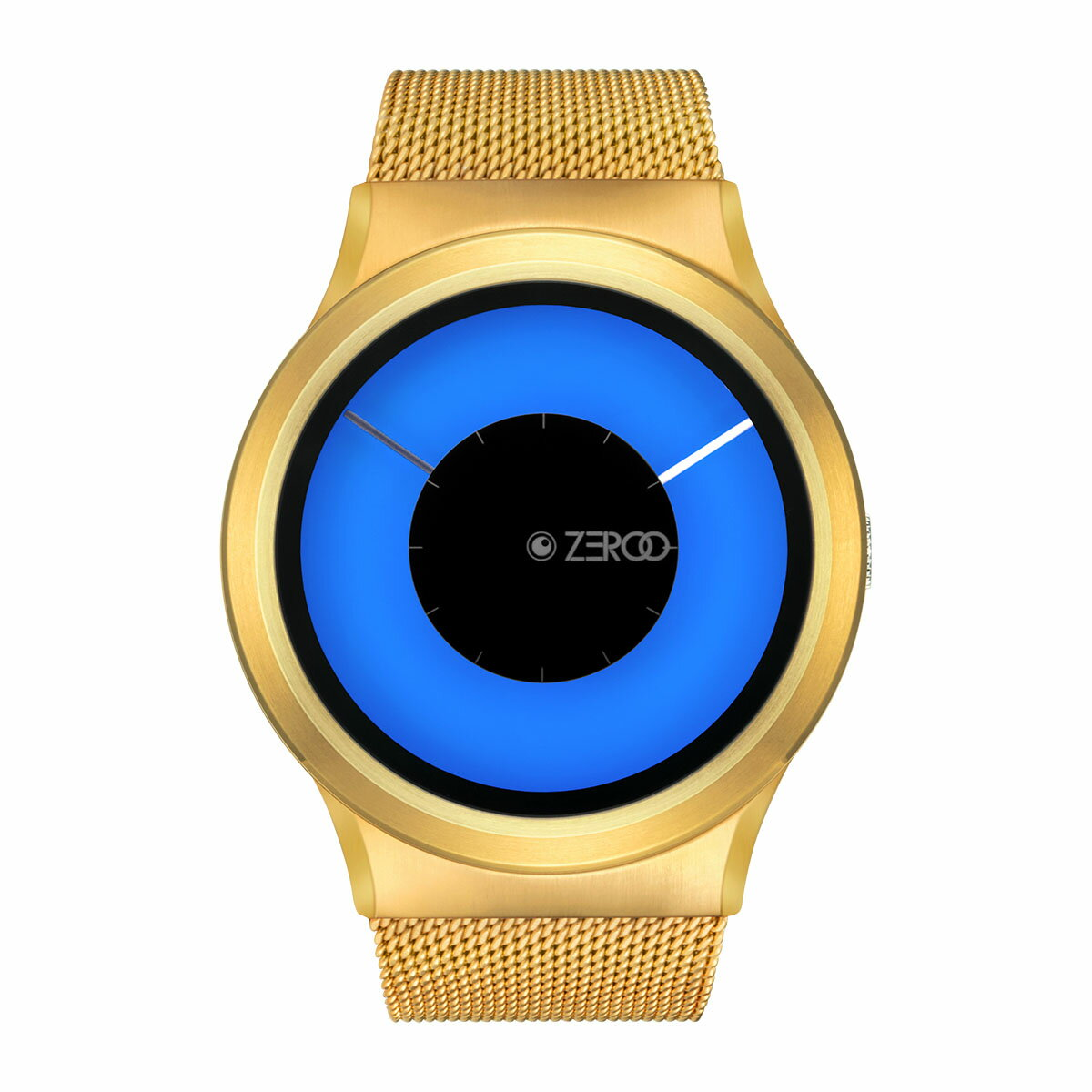 ZEROO MAGIA AURORA ゼロ 電池式クォーツ 腕時計 [W11026B04SM04] ブルー デザインウォッチ ペア用 メンズ レディース ユニセックス おしゃれ時計 デザイナーズ