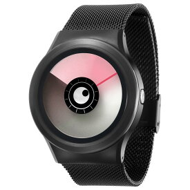 ZEROO AURORA BOREALIS ゼロ 電池式クォーツ 腕時計 [W12020B03SM03] ピンク デザインウォッチ ペア用 メンズ レディース ユニセックス おしゃれ時計 デザイナーズ