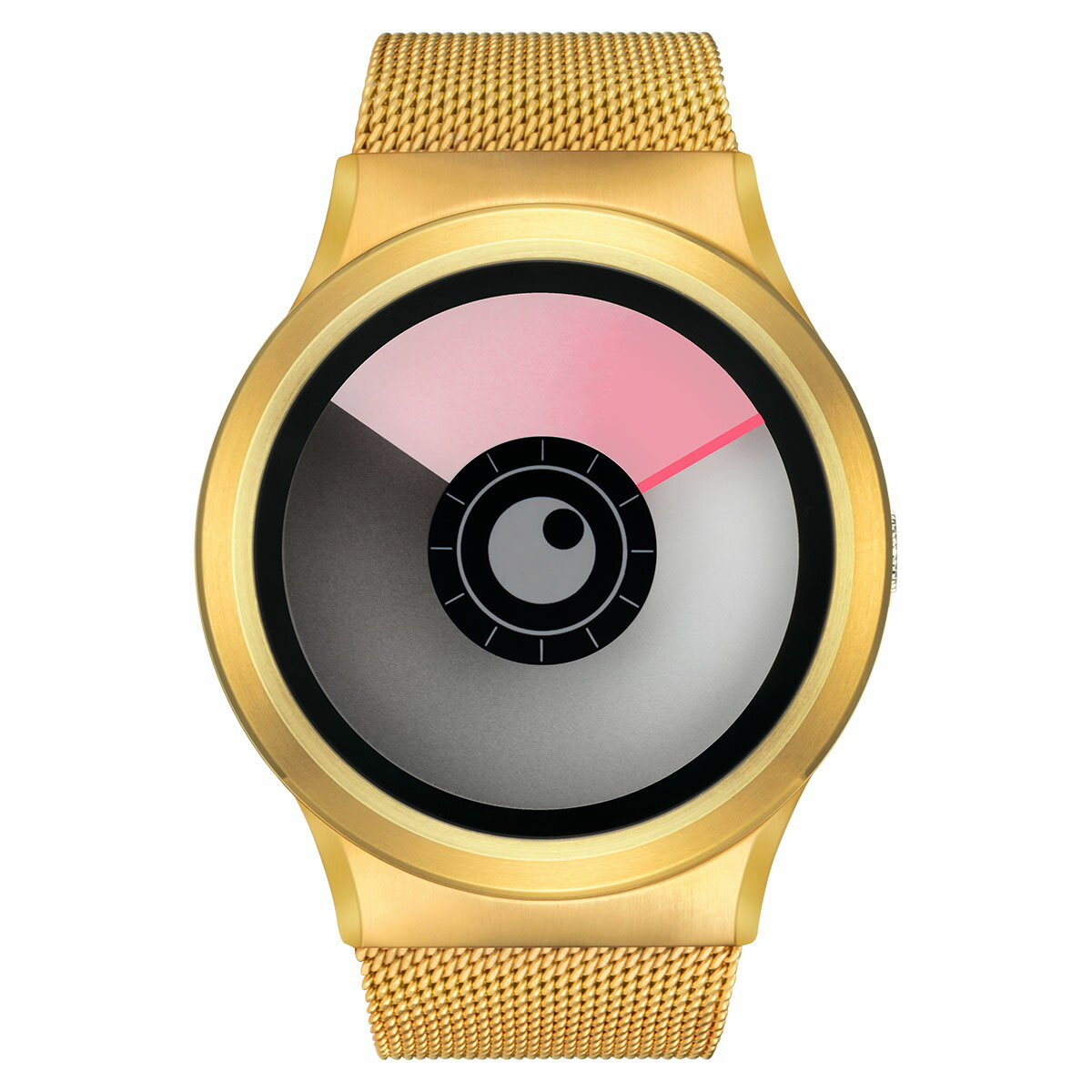 ZEROO AURORA BOREALIS ゼロ 電池式クォーツ 腕時計 [W12020B04SM04] ピンク デザインウォッチ ペア用 メンズ レディース ユニセックス おしゃれ時計 デザイナーズ