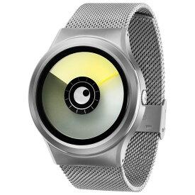 ZEROO AURORA BOREALIS ゼロ 電池式クォーツ 腕時計 [W12021B01SM01] イエロー デザインウォッチ ペア用 メンズ レディース ユニセックス おしゃれ時計 デザイナーズ