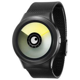 ZEROO AURORA BOREALIS ゼロ 電池式クォーツ 腕時計 [W12021B03SM03] イエロー デザインウォッチ ペア用 メンズ レディース ユニセックス おしゃれ時計 デザイナーズ