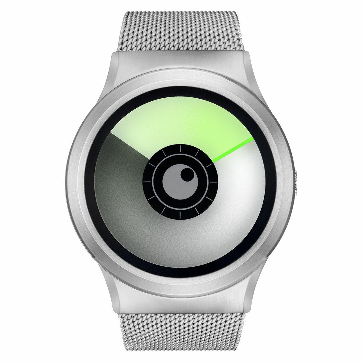 ZEROO AURORA BOREALIS ゼロ 電池式クォーツ 腕時計 [W12022B01SM01] グリーン デザインウォッチ ペア用 メンズ レディース ユニセックス おしゃれ時計 デザイナーズ