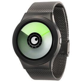 ZEROO AURORA BOREALIS ゼロ 電池式クォーツ 腕時計 [W12022B02SM02] グリーン デザインウォッチ ペア用 メンズ レディース ユニセックス おしゃれ時計 デザイナーズ