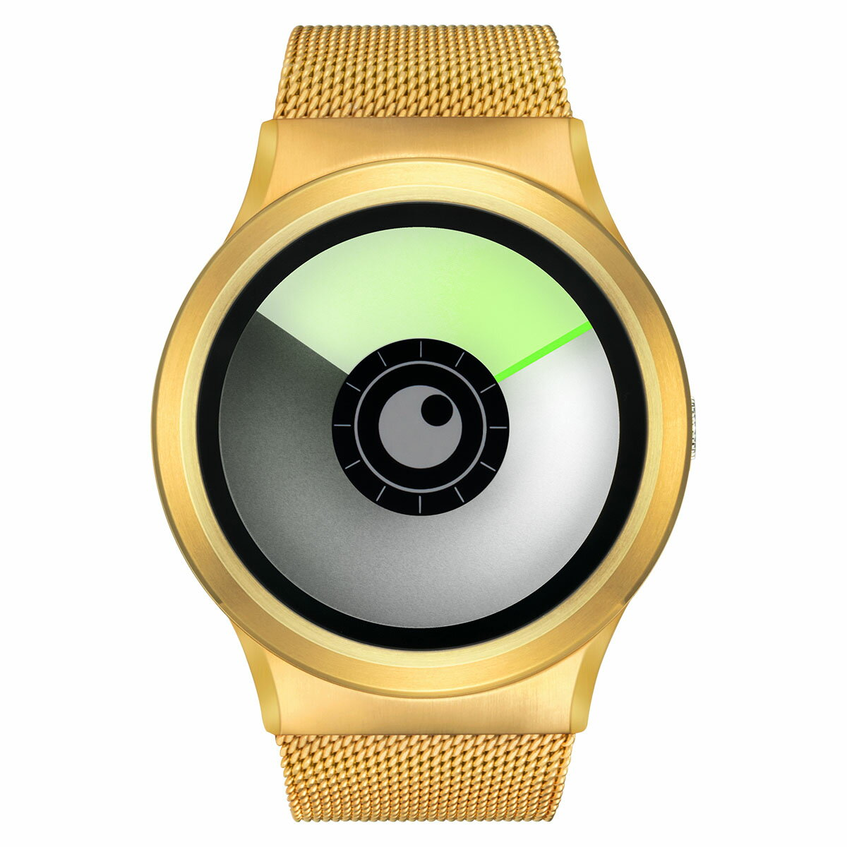ZEROO AURORA BOREALIS ゼロ 電池式クォーツ 腕時計 [W12022B04SM04] グリーン デザインウォッチ ペア用 メンズ レディース ユニセックス おしゃれ時計 デザイナーズ