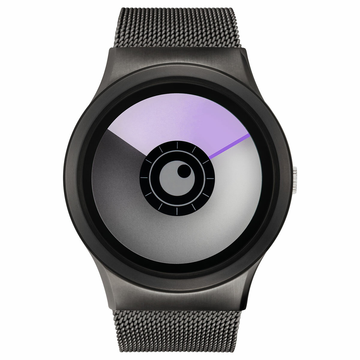 ZEROO AURORA BOREALIS ゼロ 電池式クォーツ 腕時計 [W12023B02SM02] パープル デザインウォッチ ペア用 メンズ レディース ユニセックス おしゃれ時計 デザイナーズ