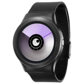 ZEROO AURORA BOREALIS ゼロ 電池式クォーツ 腕時計 [W12023B03SM03] パープル デザインウォッチ ペア用 メンズ レディース ユニセックス おしゃれ時計 デザイナーズ