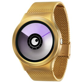 ZEROO AURORA BOREALIS ゼロ 電池式クォーツ 腕時計 [W12023B04SM04] パープル デザインウォッチ ペア用 メンズ レディース ユニセックス おしゃれ時計 デザイナーズ