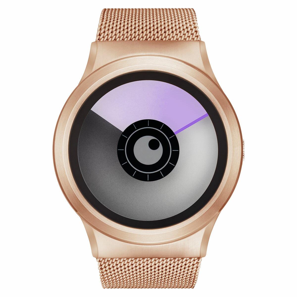 ZEROO AURORA BOREALIS ゼロ 電池式クォーツ 腕時計 [W12023B05SM05] パープル デザインウォッチ ペア用 メンズ レディース ユニセックス おしゃれ時計 デザイナーズ