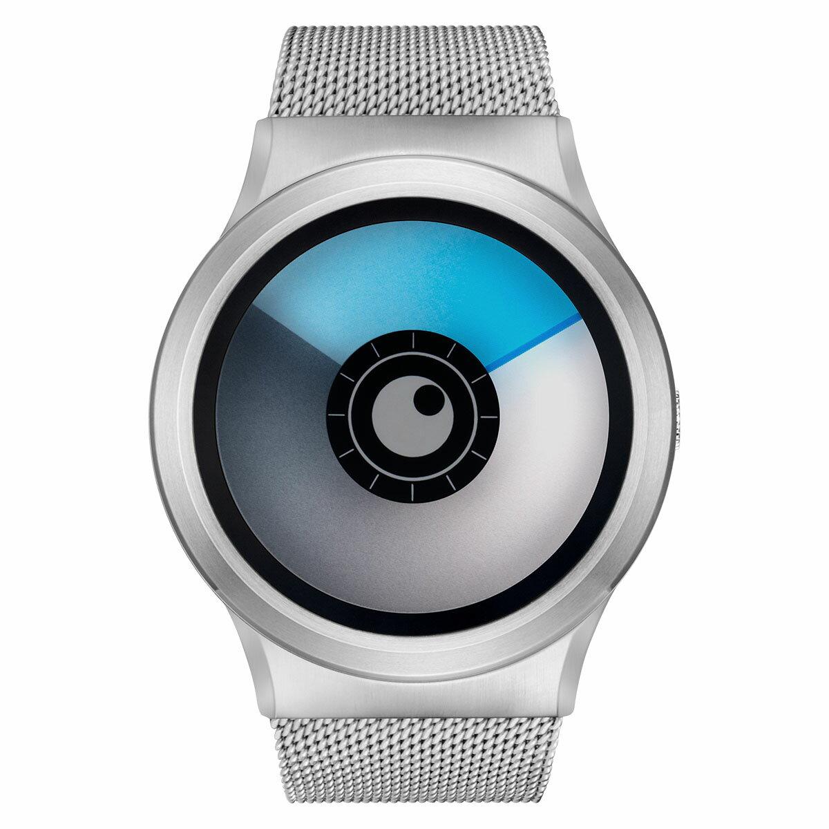 ZEROO AURORA BOREALIS ゼロ 電池式クォーツ 腕時計 [W12024B01SM01] ブルー デザインウォッチ ペア用 メンズ レディース ユニセックス おしゃれ時計 デザイナーズ