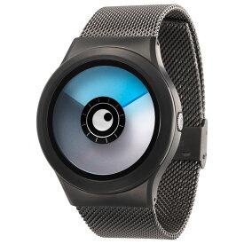 ZEROO AURORA BOREALIS ゼロ 電池式クォーツ 腕時計 [W12024B02SM02] ブルー デザインウォッチ ペア用 メンズ レディース ユニセックス おしゃれ時計 デザイナーズ