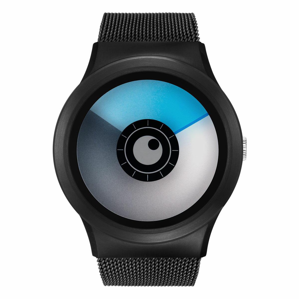 ZEROO AURORA BOREALIS ゼロ 電池式クォーツ 腕時計 [W12024B03SM03] ブルー デザインウォッチ ペア用 メンズ レディース ユニセックス おしゃれ時計 デザイナーズ