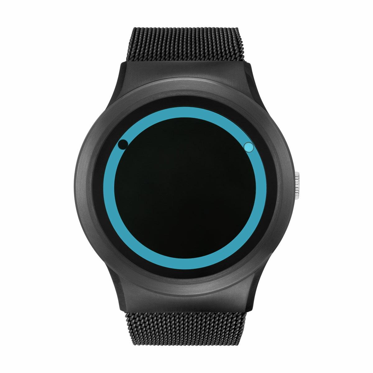 ZEROO PLANET ECLIPSE ゼロ 電池式クォーツ 腕時計 [W13027B03SM03] ブルー デザインウォッチ ペア用 メンズ レディース ユニセックス おしゃれ時計 デザイナーズ
