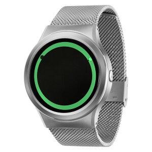 ZEROOPLANETECLIPSEゼロ電池式クォーツ腕時計[W13028B01SM01]グリーン