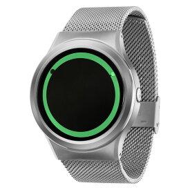 ZEROO PLANET ECLIPSE ゼロ 電池式クォーツ 腕時計 [W13028B01SM01] グリーン デザインウォッチ ペア用 メンズ レディース ユニセックス おしゃれ時計 デザイナーズ