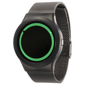 ZEROO PLANET ECLIPSE ゼロ 電池式クォーツ 腕時計 [W13028B02SM02] グリーン デザインウォッチ ペア用 メンズ レディース ユニセックス おしゃれ時計 デザイナーズ