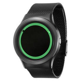 ZEROO PLANET ECLIPSE ゼロ 電池式クォーツ 腕時計 [W13028B03SM03] グリーン デザインウォッチ ペア用 メンズ レディース ユニセックス おしゃれ時計 デザイナーズ