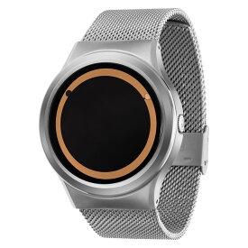 ZEROO PLANET ECLIPSE ゼロ 電池式クォーツ 腕時計 [W13029B01SM01] ベージュ デザインウォッチ ペア用 メンズ レディース ユニセックス おしゃれ時計 デザイナーズ