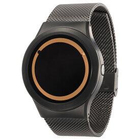ZEROO PLANET ECLIPSE ゼロ 電池式クォーツ 腕時計 [W13029B02SM02] ベージュ デザインウォッチ ペア用 メンズ レディース ユニセックス おしゃれ時計 デザイナーズ