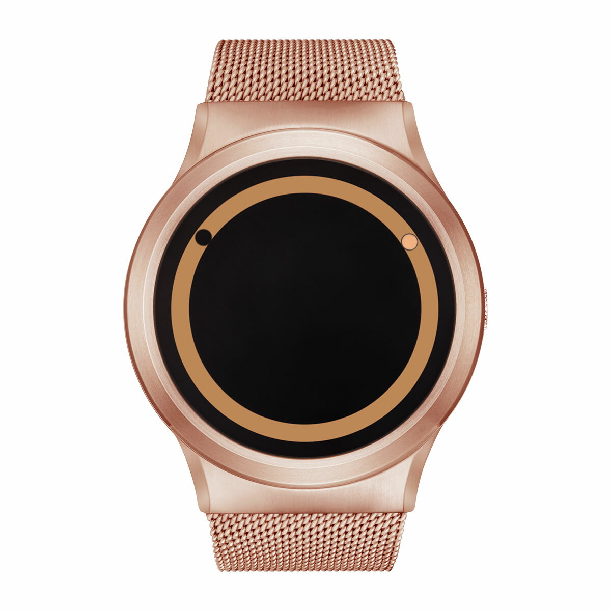 ZEROO PLANET ECLIPSE ゼロ 電池式クォーツ 腕時計 [W13029B05SM05] ベージュ デザインウォッチ ペア用 メンズ レディース ユニセックス おしゃれ時計 デザイナーズ