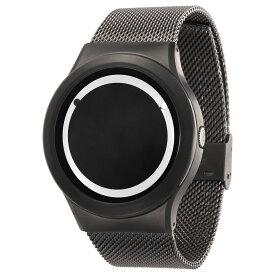 ZEROO PLANET ECLIPSE ゼロ 電池式クォーツ 腕時計 [W13030B02SM02] ホワイト デザインウォッチ ペア用 メンズ レディース ユニセックス おしゃれ時計 デザイナーズ