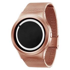 ZEROO PLANET ECLIPSE ゼロ 電池式クォーツ 腕時計 [W13030B05SM05] ホワイト デザインウォッチ ペア用 メンズ レディース ユニセックス おしゃれ時計 デザイナーズ