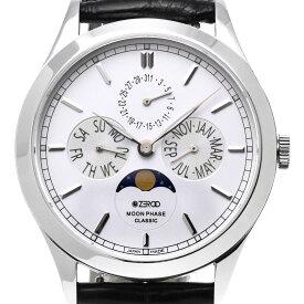 ZEROO ゼロ 電池式クォーツ 腕時計 [ZC001SWH] 並行輸入品 ムーンフェイズ カレンダー