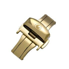 ZEROO CLASSIC D-BUCKLE ゼロ Dバックル 腕時計用バックル 尾錠 取付幅18mm Gold