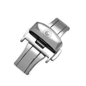 ZEROO CLASSIC D-BUCKLE ゼロ Dバックル 腕時計用バックル 尾錠 取付幅18mm Silver