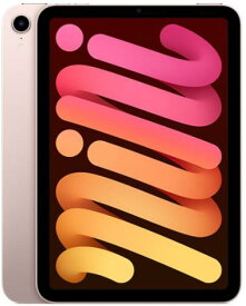 APPLE iPad mini 8.3インチ 第6世代 Wi-Fi 64GB 2021年秋モデル MLWL3J/A [ピンク]アップル タブレットPC iPadOS 15 アイパッド 新品