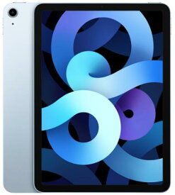 【9/19〜24 お買い物マラソン ポイント最大14倍相当】Apple iPad Air 10.9インチ 第4世代 Wi-Fi 256GB 2020年秋モデル MYFY2J/A [スカイブルー] アップル タブレット PC アイパッド 単体 新品