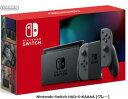 【1/24〜28楽天カード決済でポイント最大37倍相当】任天堂 Nintendo Switch HAD-S-KAAAA [グレー]ニンテンドー スイッ…