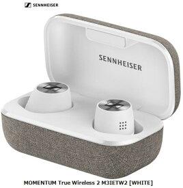 ゼンバイザー MOMENTUM True Wireless 2 M3IETW2 [WHITE]SENNHEISER Bluetooth ワイヤレスイヤホン 単体 新品