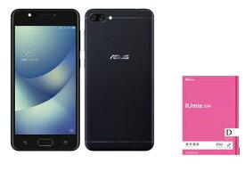 月額1,600円(税抜)〜ZenFone 4 Max SIMフリー + IIJmio音声通話パック SIMなし 音声SIMカード ドコモ回線【送料無料】docomo  (nano-SIM)