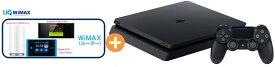 【5/9-16 お買い物マラソン ポイント最大14倍相当】UQ WiMAX 正規代理店 2年契約SONY プレイステーション4 CUH-2200AB01 [500GB] + WIMAX2+ (HOME 01,WX05,W06,HOME L02)選択 PS4 ゲーム機 セット 新品【回線セット販売】B