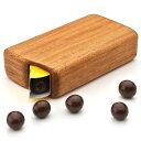 木製 ギフト テレビで話題!木製チョコボールケース【はなまるマーケット チョコボール ケース お菓子ケース 雑貨 プレ…