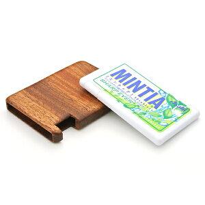 木製 ギフト 【工芸品・メーカー直送便】MINTIA専用木製ケース シングル 【ミンティア MINTIA お菓子ケース ハンドメイド 雑貨 木 LIFE SWEET D】 ※名入れサービスは終了しました。 ギフト プレゼ