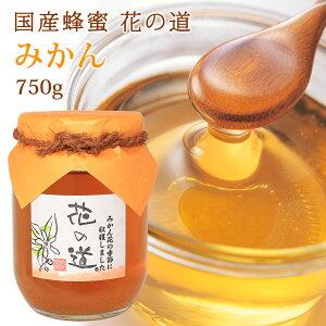 国産蜂蜜 花の道 みかん 750g