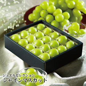 バレンタイン ぶどう シャインマスカット ジュエルセレクション チョコ箱 岡山県産 特秀 2L 20粒入り 葡萄 ブドウ